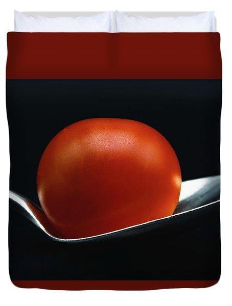Cherry Tomato Duvet Cover