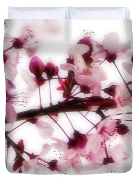 Cherry Triptych Center Panel Duvet Cover