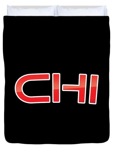 Chi Duvet Cover