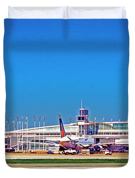 Chicago, International, Terminal Duvet Cover