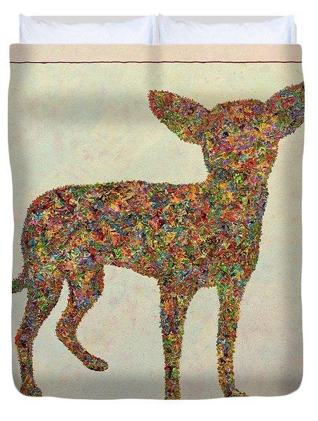 Chihuahua-shape Duvet Cover