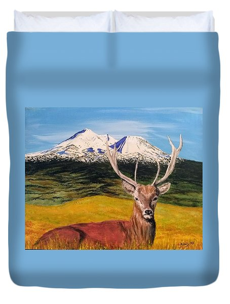 Chillin' Duvet Cover