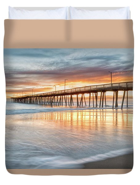 Duvet Cover featuring the photograph Choiceless Beauty by Russell Pugh