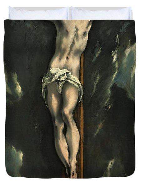 Christ On The Cross, 1610 Duvet Cover