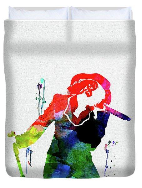 Christina Watercolor Duvet Cover