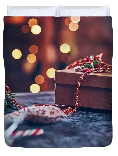 Christmas Pesent Duvet Cover