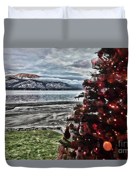 Christmas View Duvet Cover
