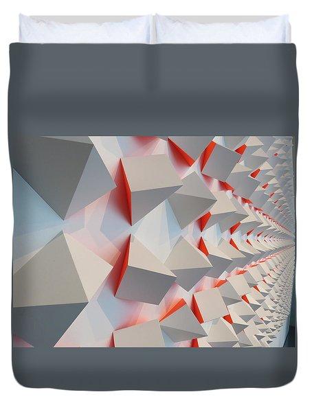 Chromoplastic Mural Duvet Cover