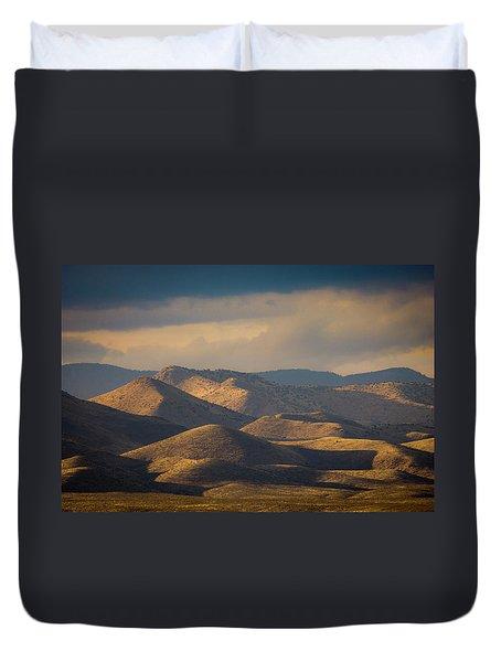 Chupadera Mountains II Duvet Cover