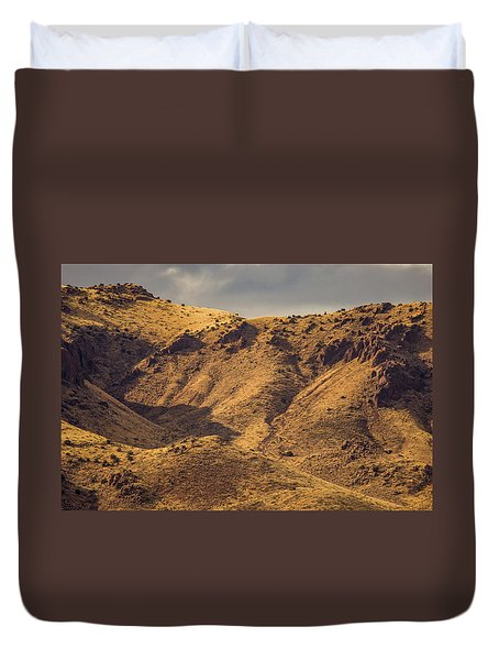 Chupadera Mountains Duvet Cover