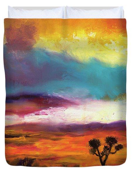 Cindy Beuoy - Arizona Sunset Duvet Cover