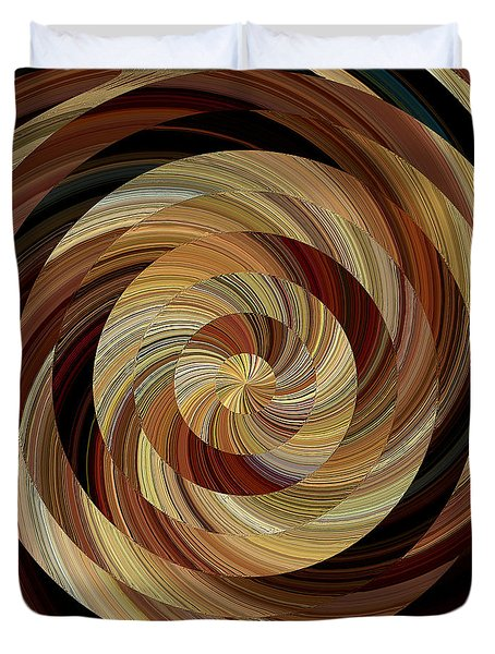 Cinnamon Roll Duvet Cover
