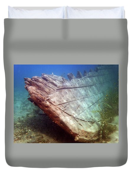 City Of Grand Rapids Shipwreck Ontario Canada 8081801c Duvet Cover