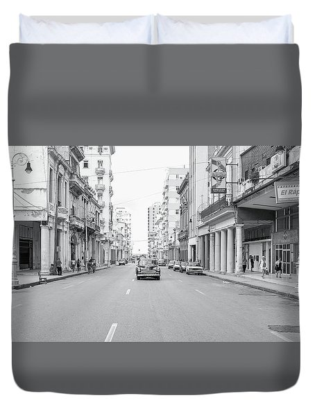 City Street, Havana Duvet Cover
