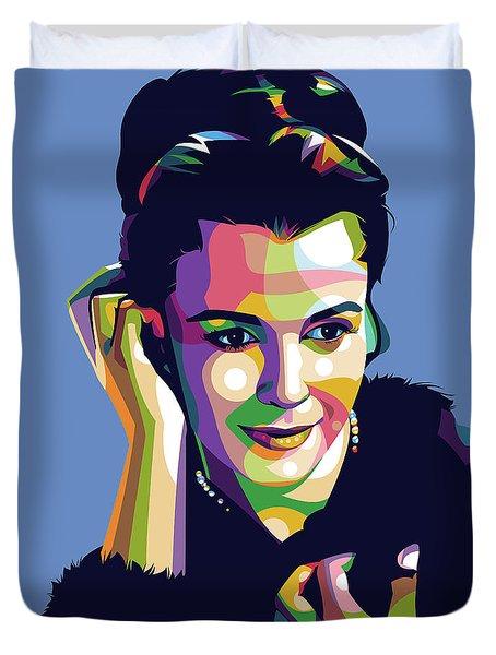 Claire Bloom Duvet Cover