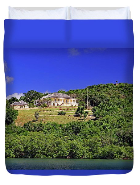 Duvet Cover featuring the photograph Clarence House by Tony Murtagh