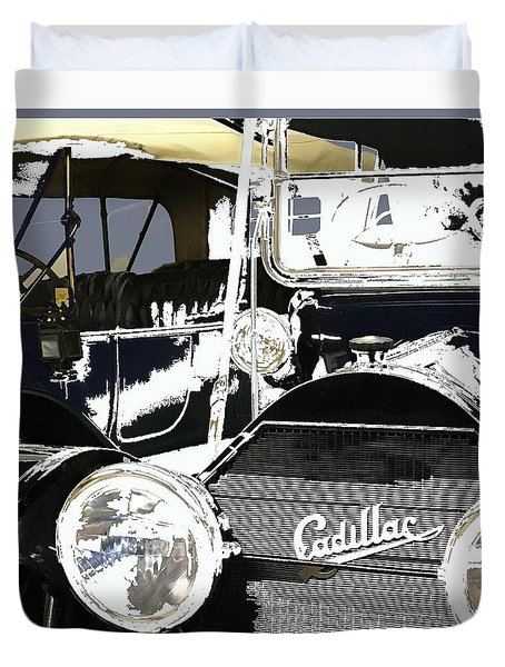 Classic Cars 9 Duvet Cover