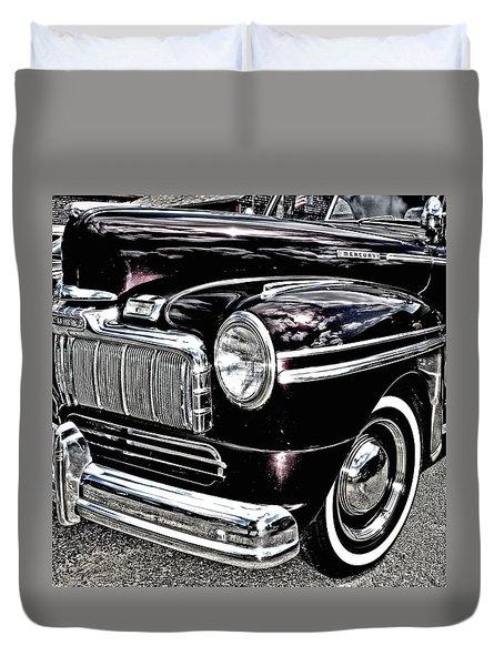 Classic Mercury Duvet Cover