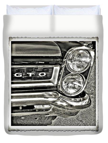 Classic Pontiac Duvet Cover