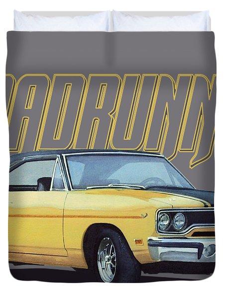 Classic Roadrunner Duvet Cover