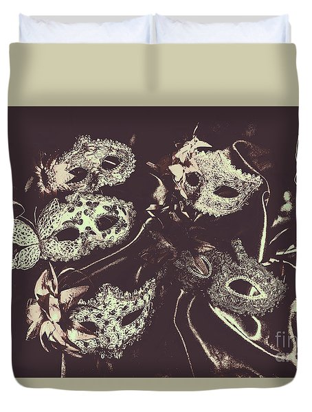Classic Theatrics Duvet Cover