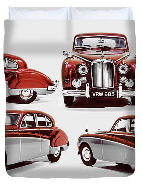 Classically British Duvet Cover