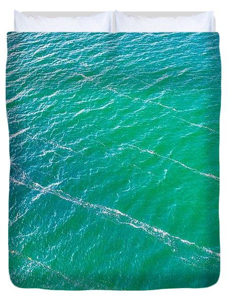 Clear Water Imagery  Duvet Cover