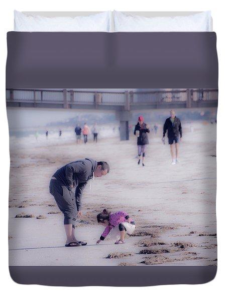 Clearwater Beachcombing Duvet Cover