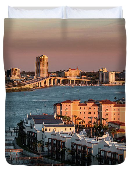 Clearwater Evening Duvet Cover