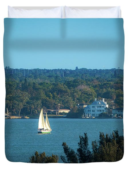 Clearwater Sails Duvet Cover