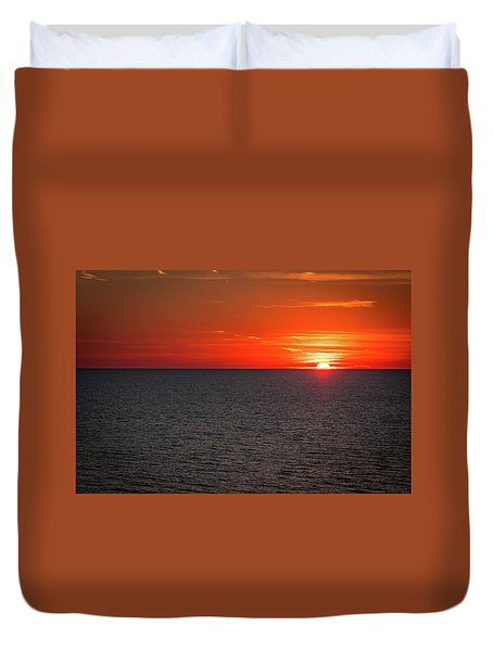 Clearwater Sunset Duvet Cover