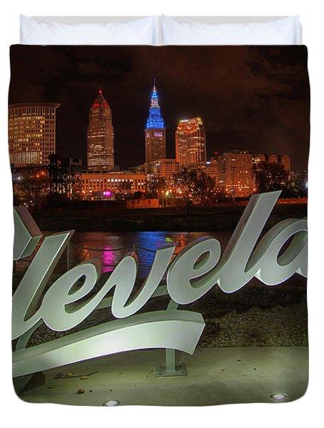 Cleveland Proud  Duvet Cover
