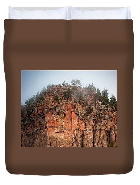 Cliff Face Hz Duvet Cover