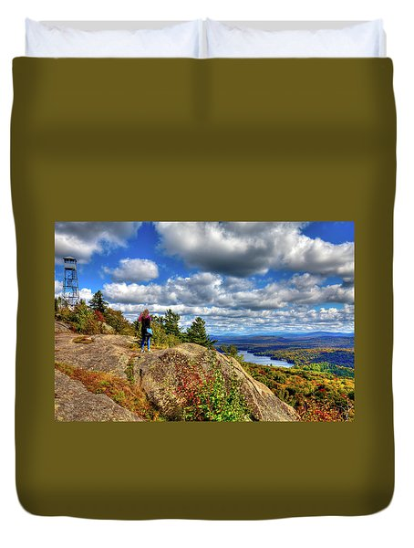 Duvet Cover featuring the photograph Close To Heaven On Earth by David Patterson