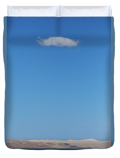 Duvet Cover featuring the photograph Cloud by Davor Zerjav