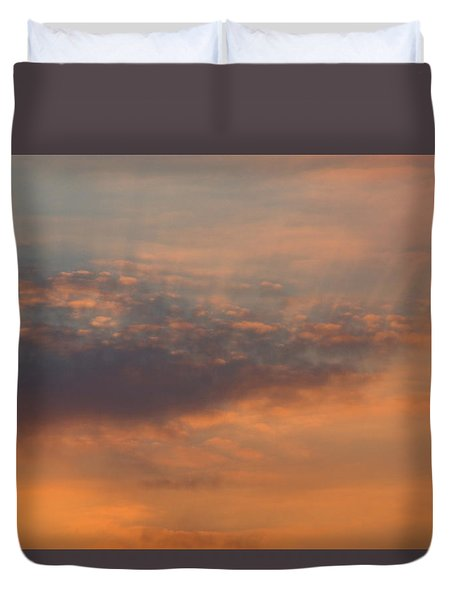 Duvet Cover featuring the photograph Cloud-scape 4 by Stewart Marsden
