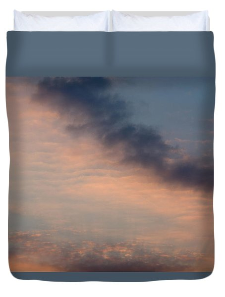 Duvet Cover featuring the photograph Cloud-scape 5 by Stewart Marsden