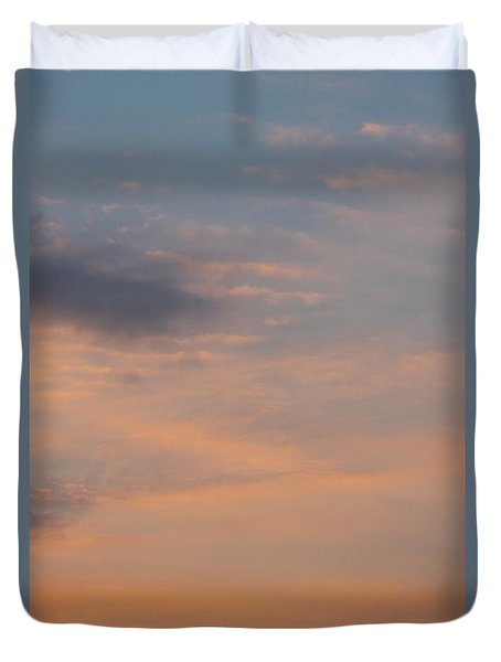 Duvet Cover featuring the photograph Cloud-scape 6 by Stewart Marsden