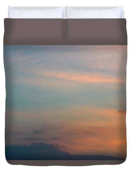 Duvet Cover featuring the photograph Cloud-scape 7 by Stewart Marsden