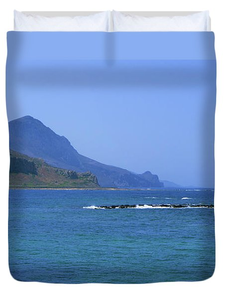 Coast Of Gramvousa Duvet Cover
