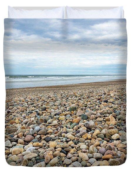 Coastal Treasures Duvet Cover