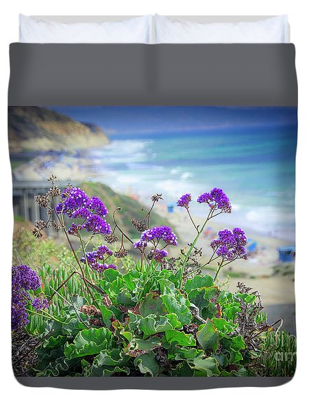 Coastline Color Duvet Cover