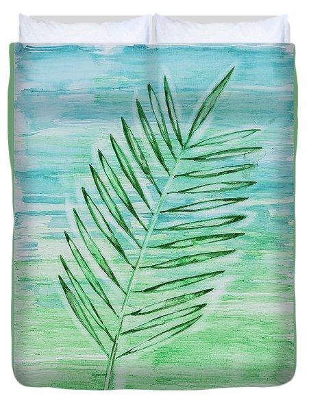 Coconut Leaf Duvet Cover