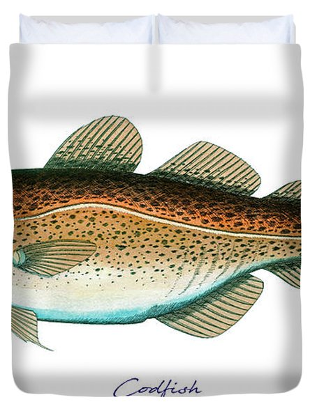 Codfish Duvet Cover