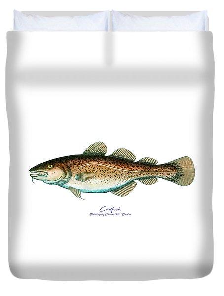 Codfish Duvet Cover