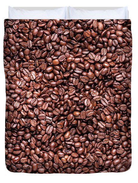 Coffee Beans Duvet Cover