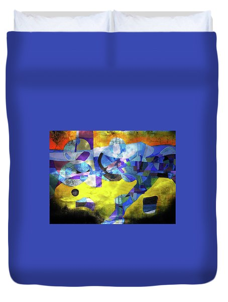 Cold Evening Wind Duvet Cover