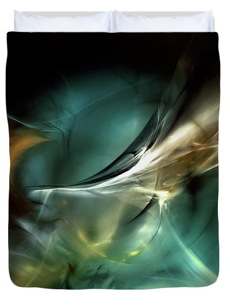 Cold Fusion Duvet Cover