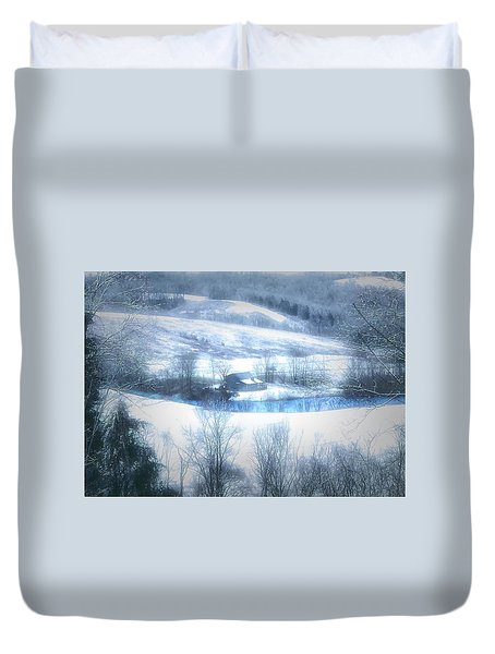 Cold Valley Duvet Cover