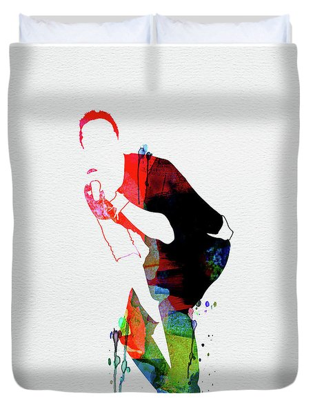 Coldplay Watercolor Duvet Cover